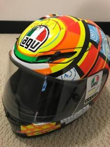 AGV GP-Tech Rossi Elements Like NEW MINT!!! SIGNED BY ROSSI