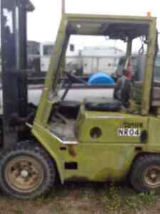 Clark Forklift in working condition