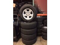 """17"""" Jeep Alloys and New Tyres"""