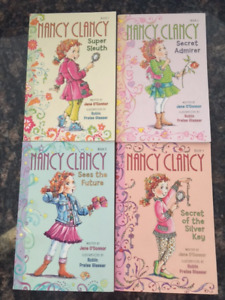Nancy Clancy Series Books 1-4 (Young Readers)