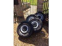 VW TRANSPORTER T5 WHEELS AND TYRES