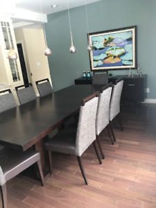 Dining Room Table And Buffet For Sale