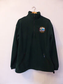 'Scottish Islands Peaks Race 2000' Bottle Green Fleece - Size S