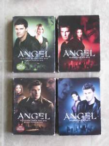 4 Coffrets films DVD (Série TV) - ANGEL - saison 1 à 4