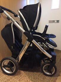 Oyster Max 2 Tandem Pushchair - Black