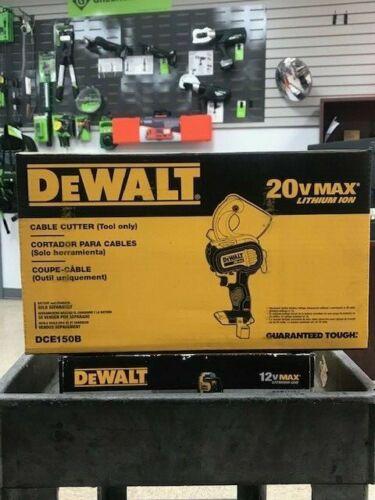 DEWALT CABLE CUTTER  DCE150B 20 V MAX