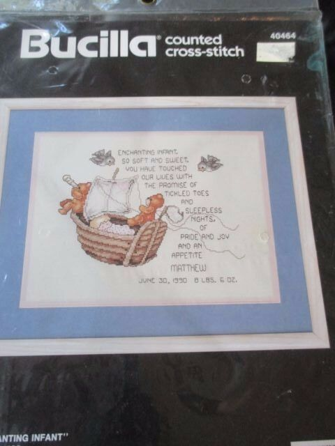 enchanted infant vintage baby birth record counted