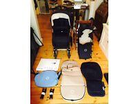 Bugaboo Cameleon 3 with with lots of acessories