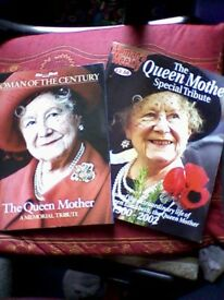 THE QUEEN MOTHER MEMORIAL TRIBUTES x 2