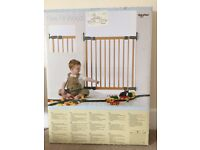 BabyDan Wooden Safety Gate from John Lewis - NEVER USED