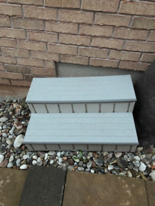 Hot Tub Steps with Storage
