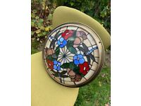 Lovely Stained Glass ceiling lamp, great condition.