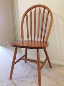 4 x Timber Dining Chairs Hobart CBD Hobart City Preview