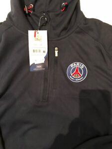 NEW with tags 2018 PSG Paris Saint-Germain soccer veste hoodie