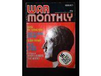 Magazine 'War Monthly' issue 1.
