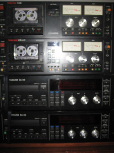 HIGH END ANALOG AND DIGITAL TAPE RECORDERS