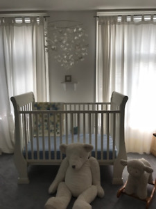 Pottery Barn Kids Crib and ; Ultimate Change Table - MINT