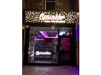 EXCELLENT BUSINESS OPPORTUNITY!! DESSERT PARLOUR, ICE CREAM, DESSERTS, CAKES AND COFFEE, LEITH WALK