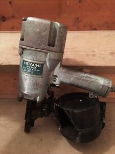 HITACHI  COIL  NAILER  FOR  SALE