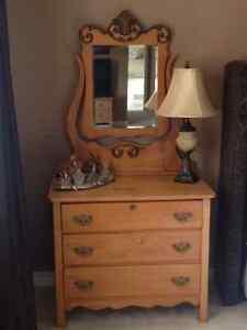 Antique Maple Dresser
