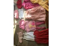 13 items of branded girls clothes 5-6 years including Mini Boden, Next, Gap, Laura Ashley, Blue Zoo