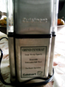 Coffee Grinder Cuisinart Grind Central Stainless Coffee Grinder