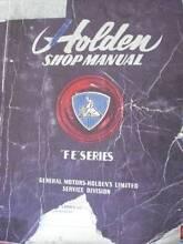 HOLDEN FE series WORKSHOP SERVICE MANUAL c1956 Dianella Stirling Area Preview