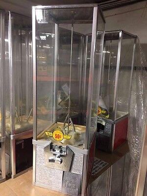 Red Northwestern 2 Capsule Toy Bulk Vending Machine 2 Inch Vendor Aa