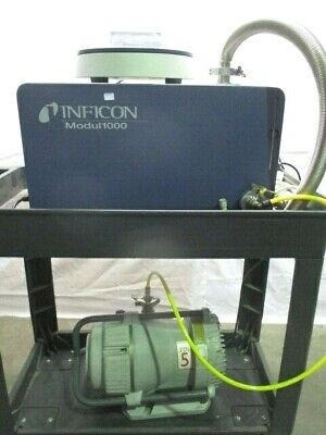 Inficon Modul1000 Leak Detector w/ BOC Edwards XDS5 Dry Scroll Dry Pump, RS1067