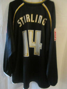 Oxford-United-2006-2007-Match-Worn-Stirling-Away-Football-Shirt-Size-XL-8186