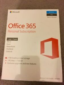 Office 365 Personal Subscription / McAfee Antivirus Subscription