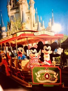 Mickey Mouse framed picture of DISNEYLAND~~~MICKEY, DISNEY
