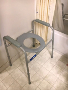 Excellent condition portable commode