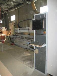 Poste usinage CNC Weeke Optimat BHC 550