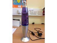 Purple Larva Lamp