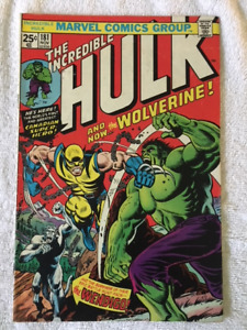 The Incredible Hulk comic #181 - 1st appearance of the Wolverine