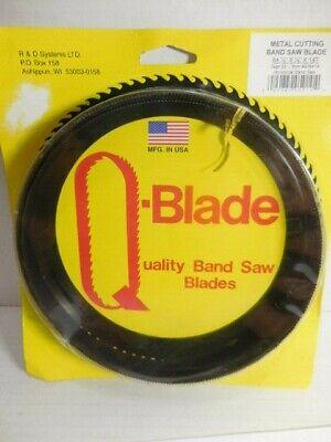 Q Blade Metal Cutting Bandsaw Blade 64 12 X 12 X 14 Teeth Usa Made A3