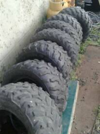 Used quad and quad trailer tyres