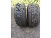 Brand New Tyres TOYO PROXES 225 50 15
