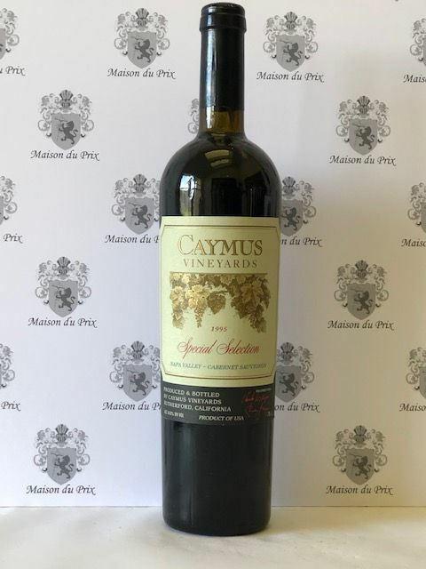 Caymus Special Selection Cabernet Sauvignon Napa Valley 1995