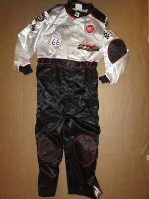 Boys RACE CAR DRIVER SUIT AEROMAX Halloween Costume sz 6 - - Racer Boy Kostüm