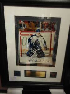 Fathers Day! Maple Leafs Felix Potvin Autographed custom framed
