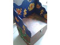 Large Hand madeToy Box/Storage Unit