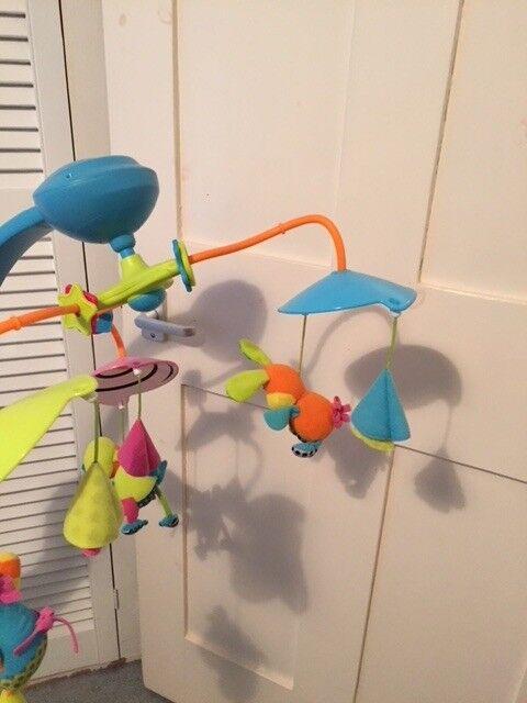 Various Baby Items Mobiles Car Seat Sling Etc In Farnham
