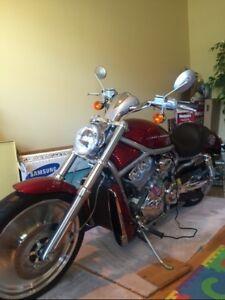 2004 Harley Davidson VRSC, V-Rod 575 kms,1050 cc,Red,