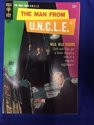 The Man From Uncle March 1968  17  Gold Key  Fine  Xfine Condition Look Now P13