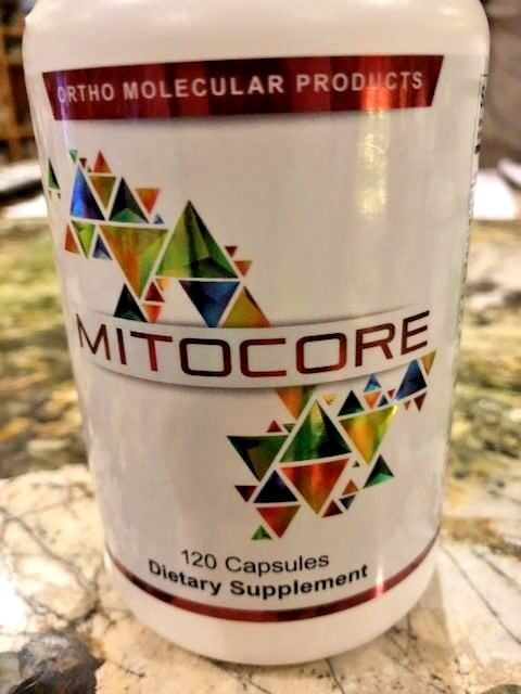 Ortho Molecular products - Mitocore 120 capsules