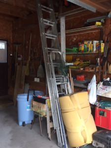 Extension Ladder and other tools