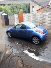 Ford KA Winter 56 plate.