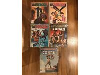 Lot 1 Savage Sword of Conan comics